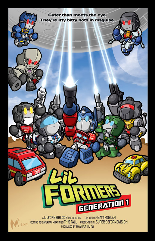 Lil Formers Creator M Moylan to attend TFCon